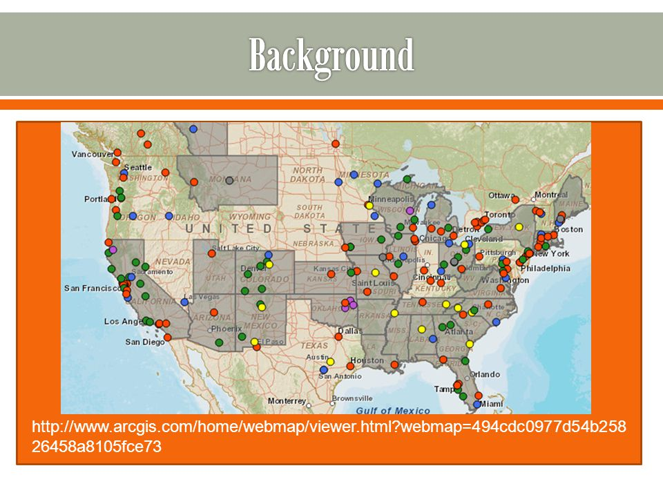  Food Policy Councils are popping up all over… http://www.arcgis.com/home/webmap/viewer.html webmap=494cdc0977d54b258 26458a8105fce73