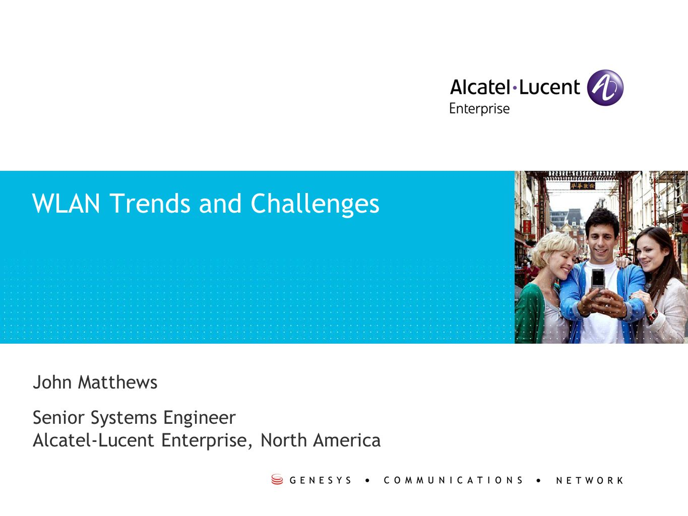 Copyright © 2011 Alcatel-Lucent.All rights reserved.