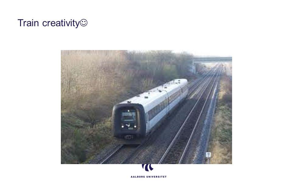 Train creativity