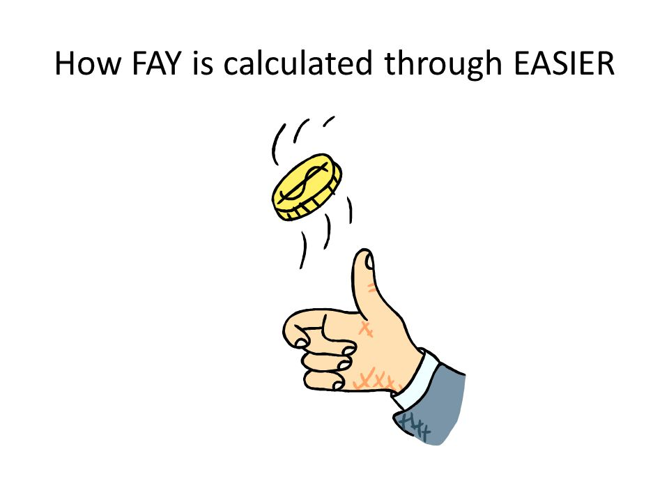 How FAY is calculated through EASIER