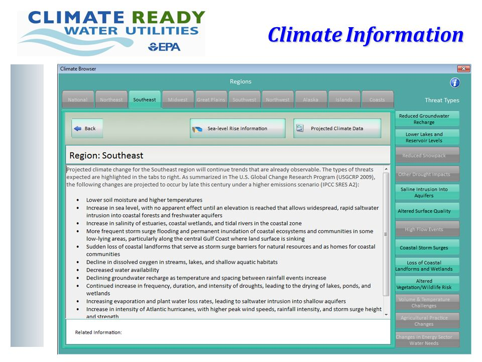 16 Climate Information