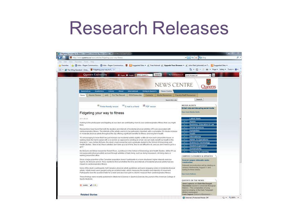 Research Releases