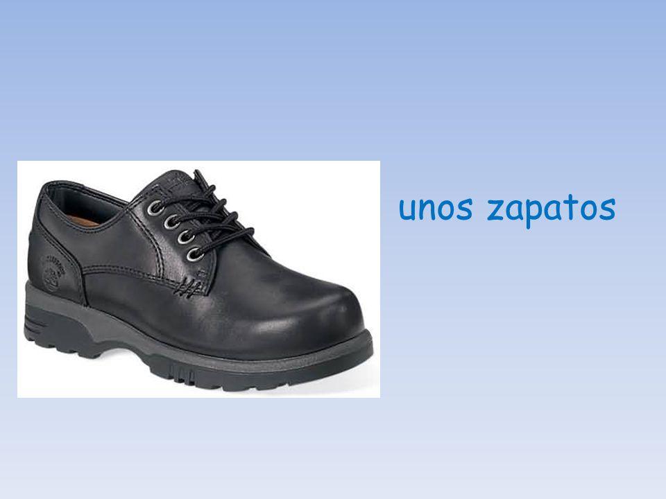 unos zapatos