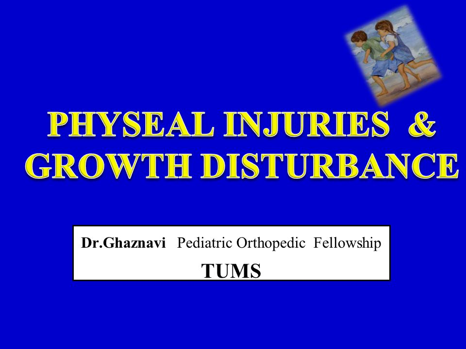 One of the unique aspects of pediatric orthopaedics is the presence of the physis (or growth plate), which provides longitudinal growth of children s long bones.