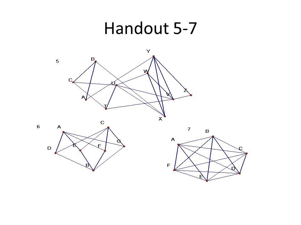 Handout 5-7