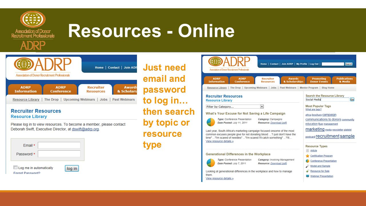 Resources - Online
