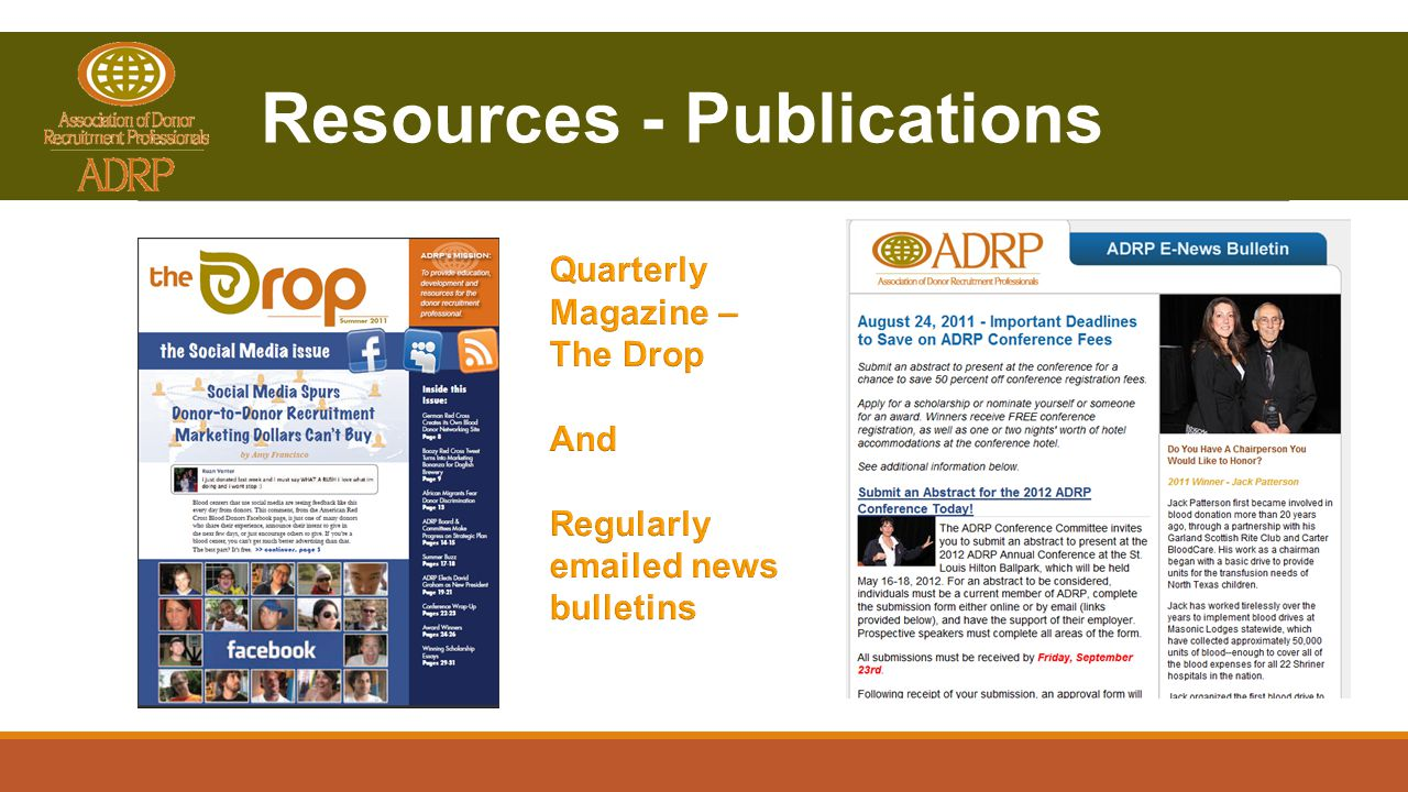 Resources - Publications