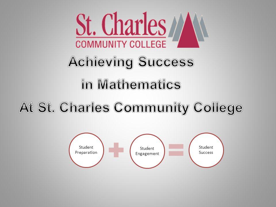 Student Preparation Student Engagement Student Success