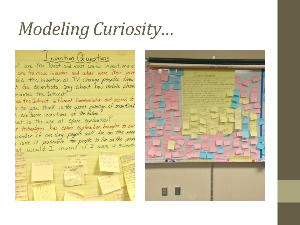 Modeling Curiosity…