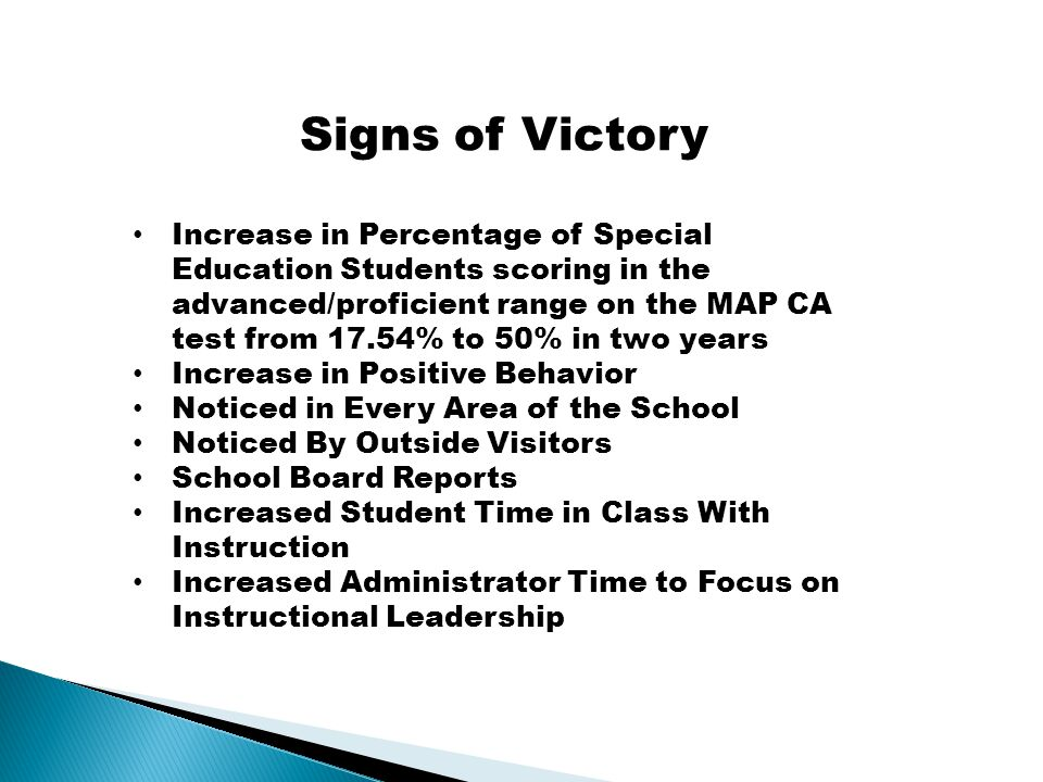 Winning the Game - Increased Achievement Decreased Negative Behavior