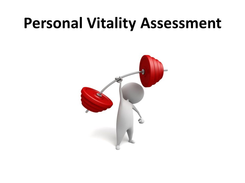 Personal Vitality Assessment