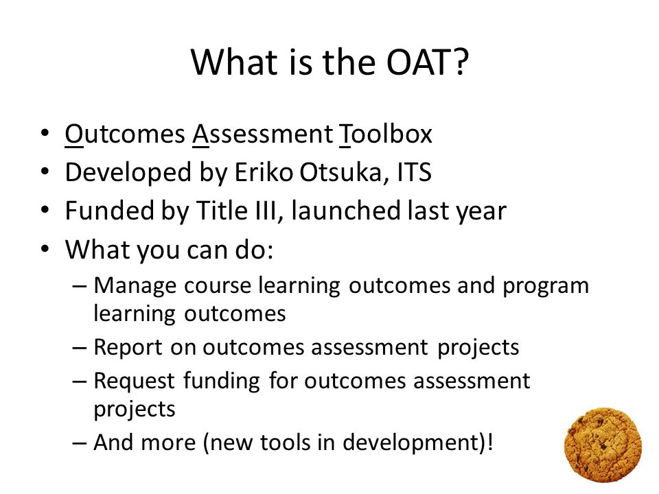 What is the OAT.
