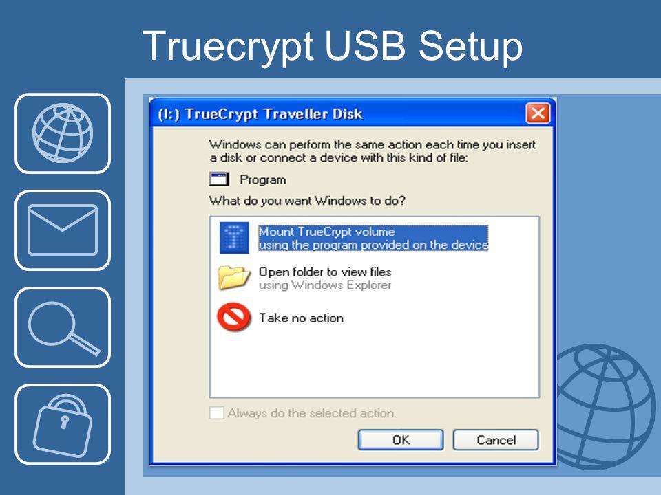 Truecrypt USB Setup