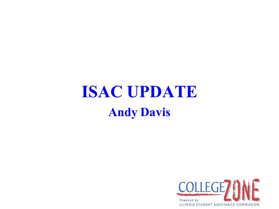ISAC UPDATE Andy Davis