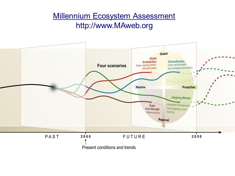 Millennium Ecosystem Assessment http://www.MAweb.org