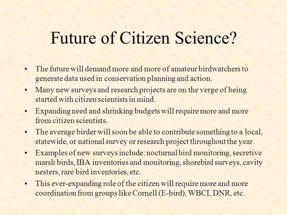 Future of Citizen Science.