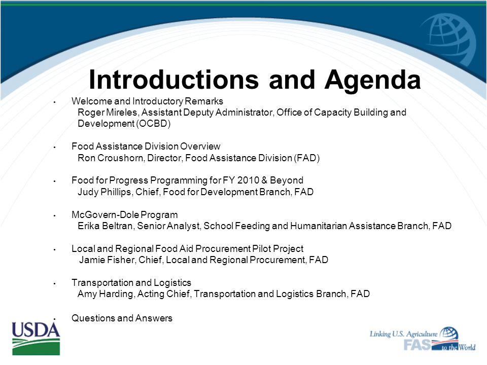 Brenda Freeman, Director Monitoring & Evaluation Staff (202) 690-1177