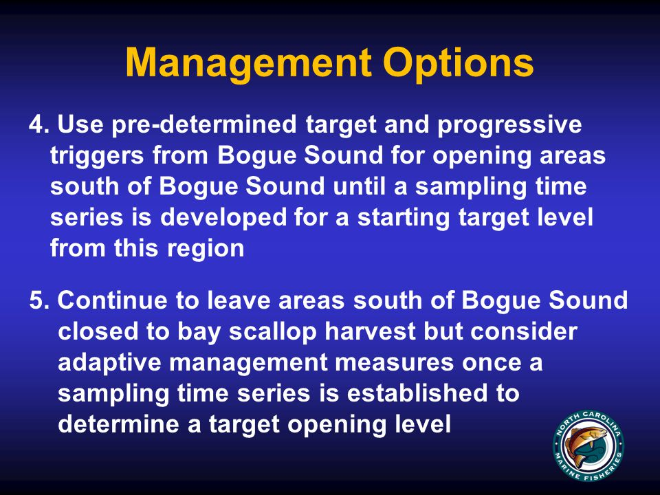 Management Options 4.