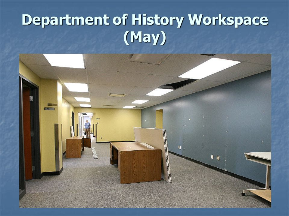 Department of History Workspace (May)