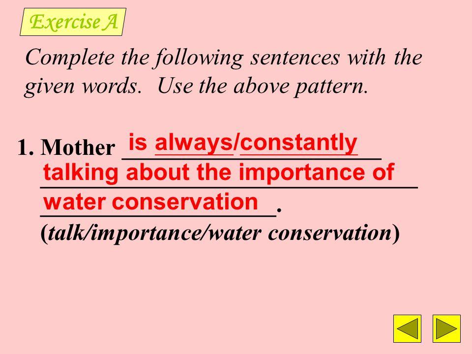 Example: 1.