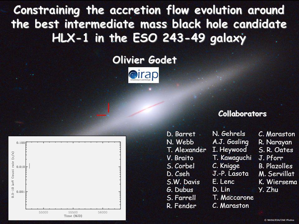 Accretion Flow Instabilities 2012 Detection of radio flares (Webb et al.