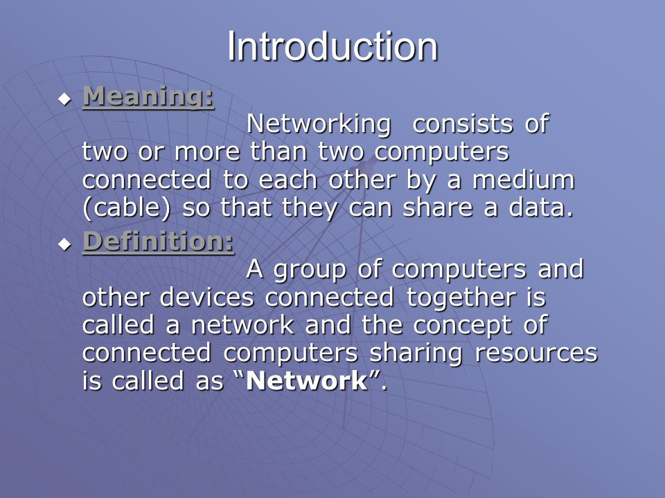 Figure 1.12 A heterogeneous network made of four WANs and two LANs