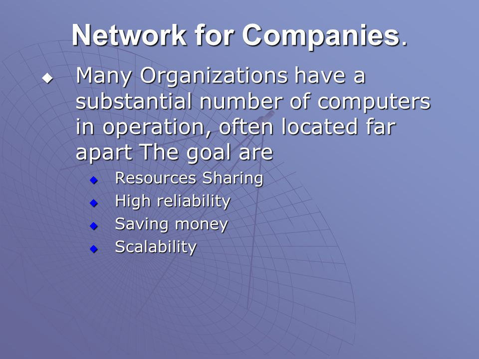 Network for People.