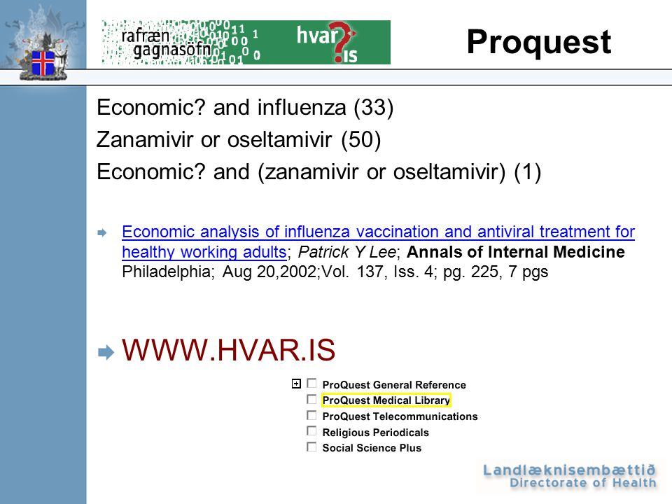 Economic. and influenza (33) Zanamivir or oseltamivir (50) Economic.