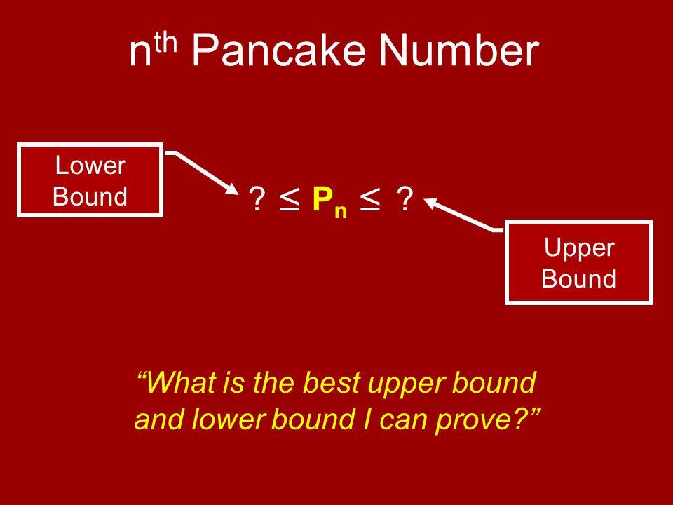 ≤ P n ≤ .