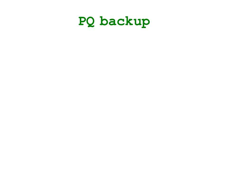 PQ backup
