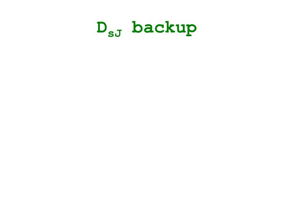 D sJ backup