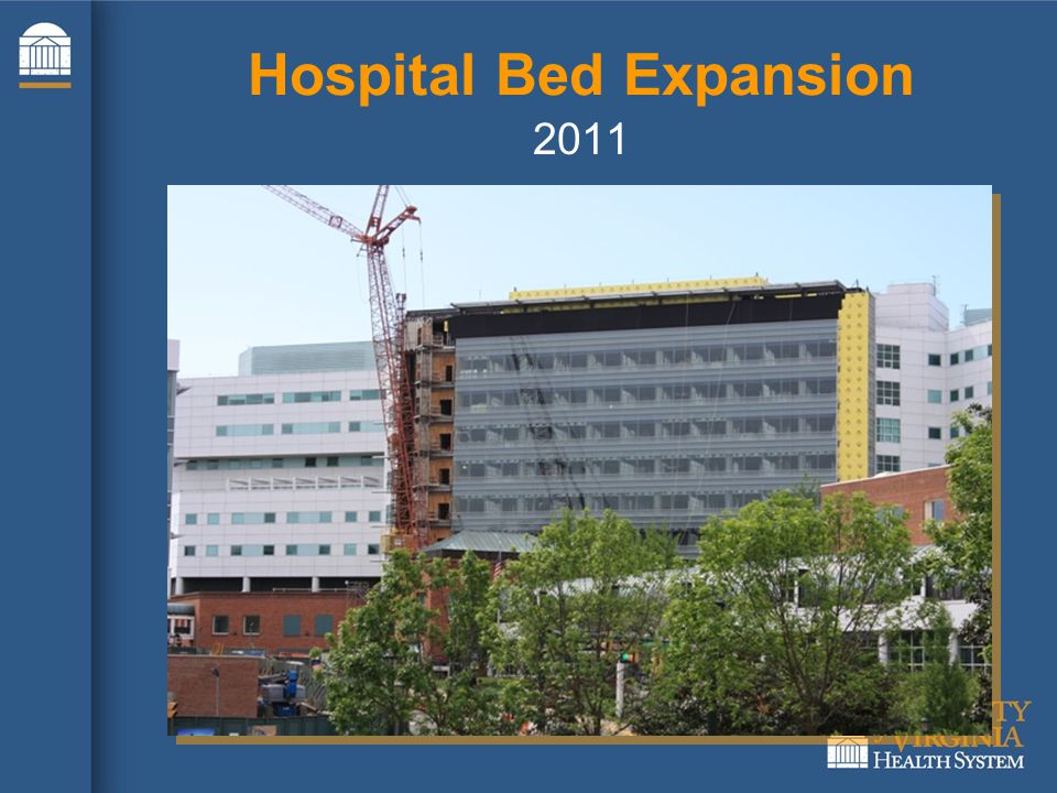 2011 Hospital Bed Expansion