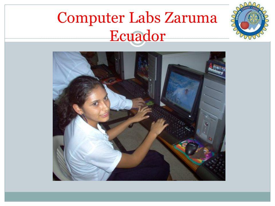 Computer Labs Zaruma Ecuador