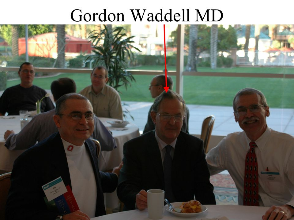 Gordon Waddell MD 37