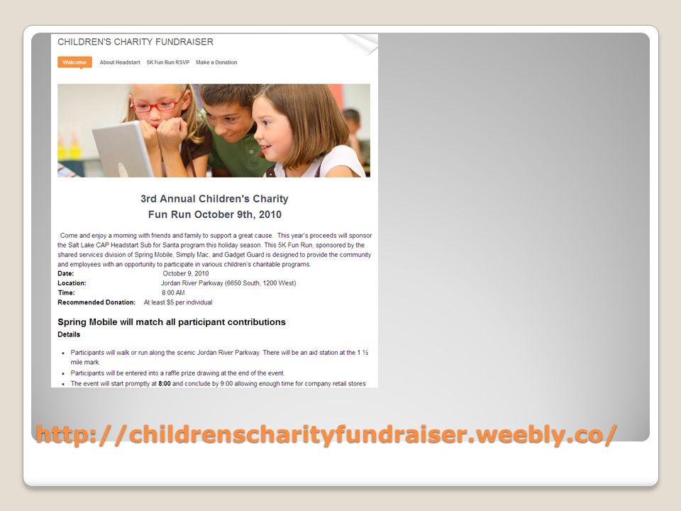 http://childrenscharityfundraiser.weebly.co/