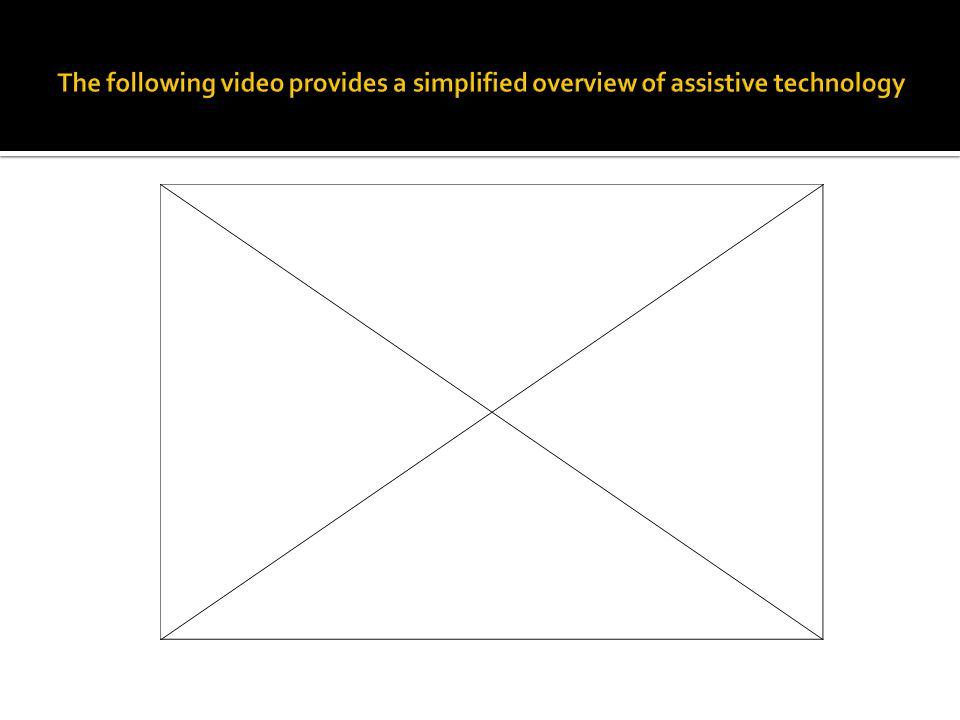 In conclusion, as assistive technology has grown from Braille devices in the 1800s into to high-tech, audio, visual, and physical devices of the 21 st century, so has the quality of the lives of individuals with disabilities.