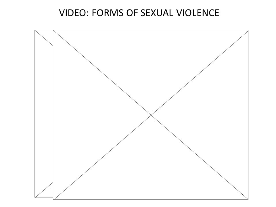 VIDEO: FORMS OF SEXUAL VIOLENCE