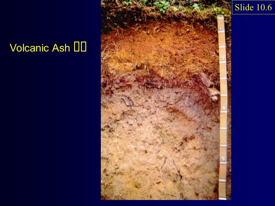Volcanic Ash ëë Slide 10.6