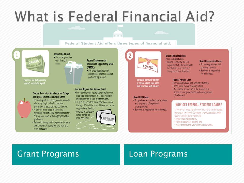 Grant Programs Loan Programs