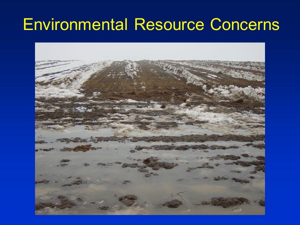 Environmental Resource Concerns