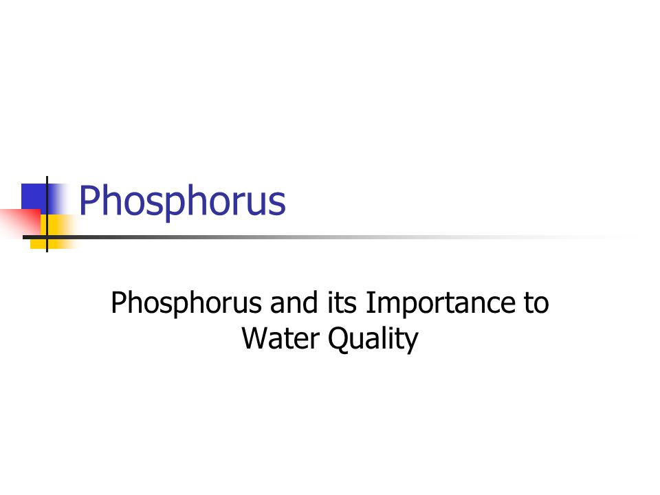 What is Phosphorus.