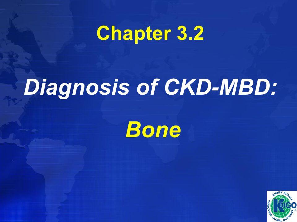 Chapter 3.2 Diagnosis of CKD-MBD: Bone