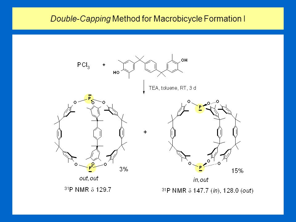 Double-Capping Method for Macrobicycle Formation I