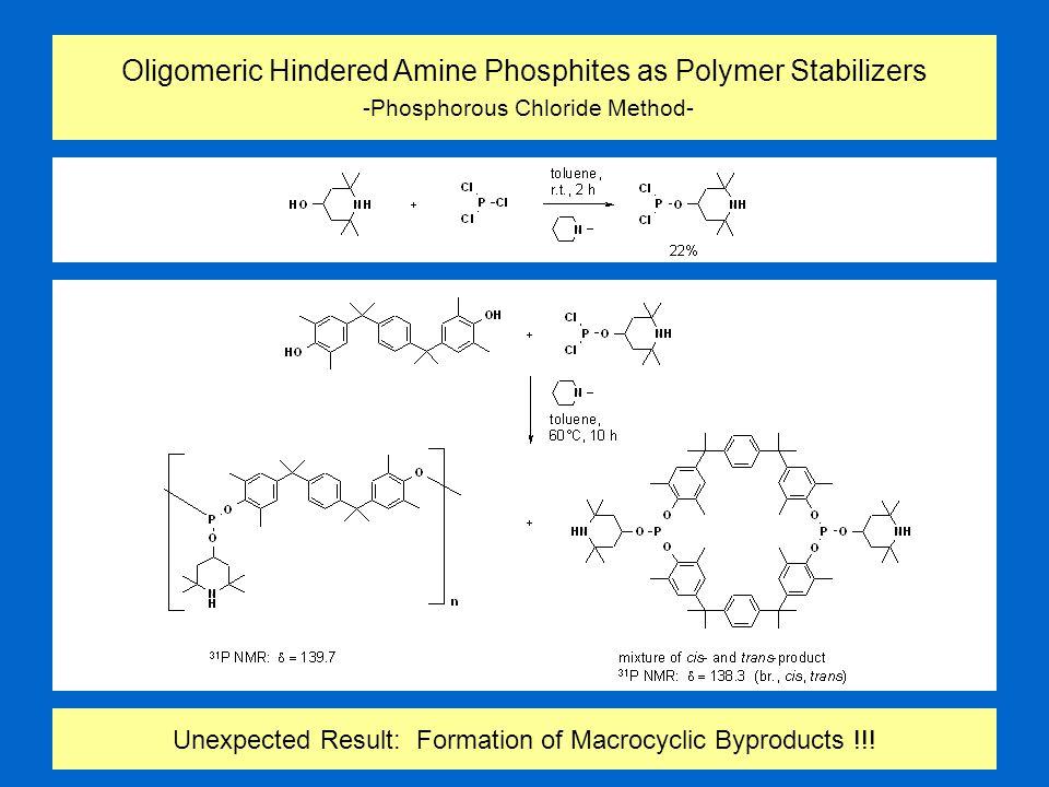 Oxidation of Isomeric P-Macrobicycles
