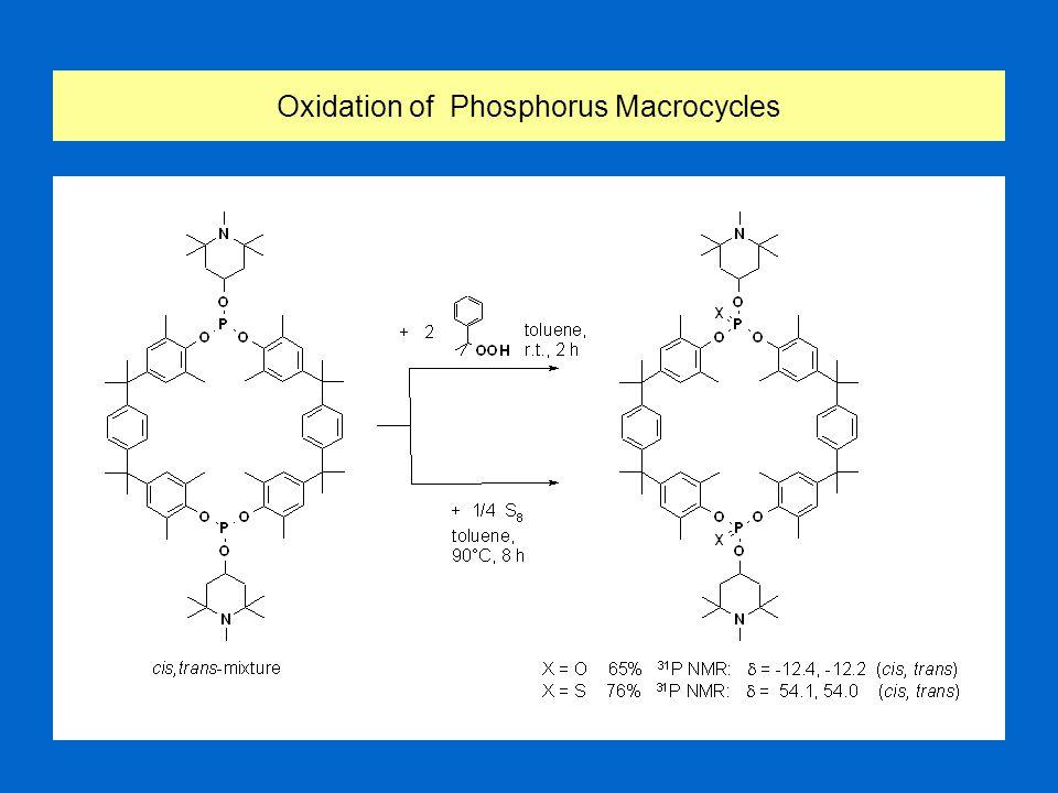 Reaction of Phosphorous Dichlorides with Bisphenols II