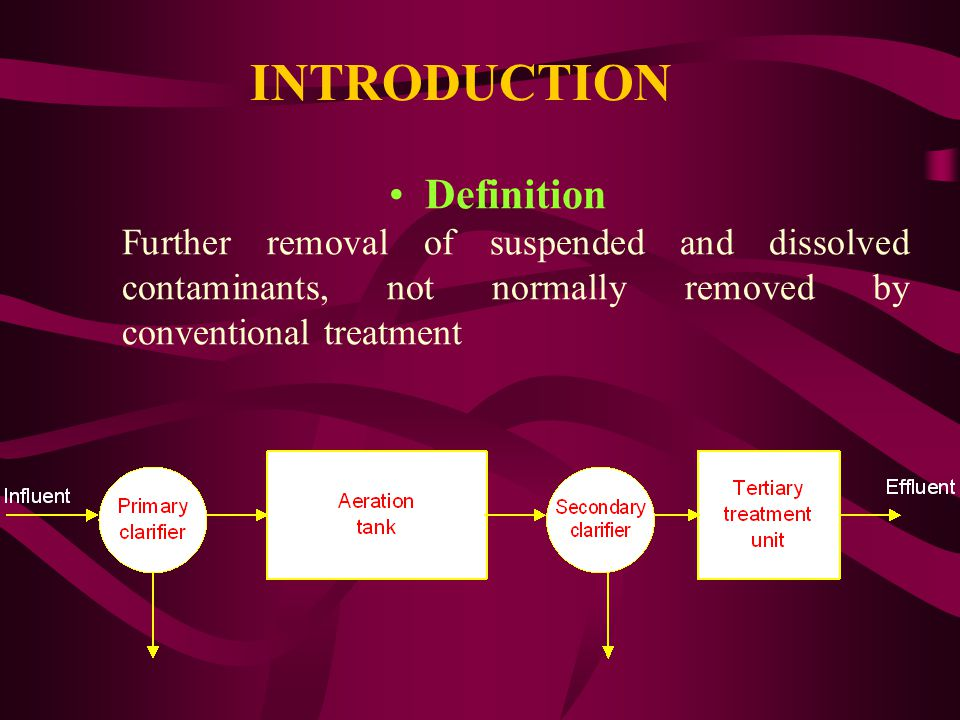 Secondary treatment is practiced in Dammam, Khobar, Qatif and Khafji Tertiary treatment is practiced in Royal Commission of Jubail and Yanbu (RCJY) In Jubail 100% of tertiary treated wastewater is being reused