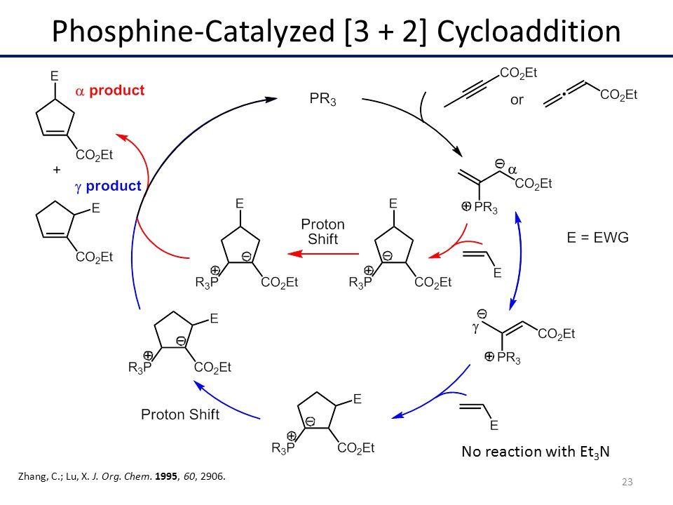 Phosphine-Catalyzed [3 + 2] Cycloaddition Zhang, C.; Lu, X.