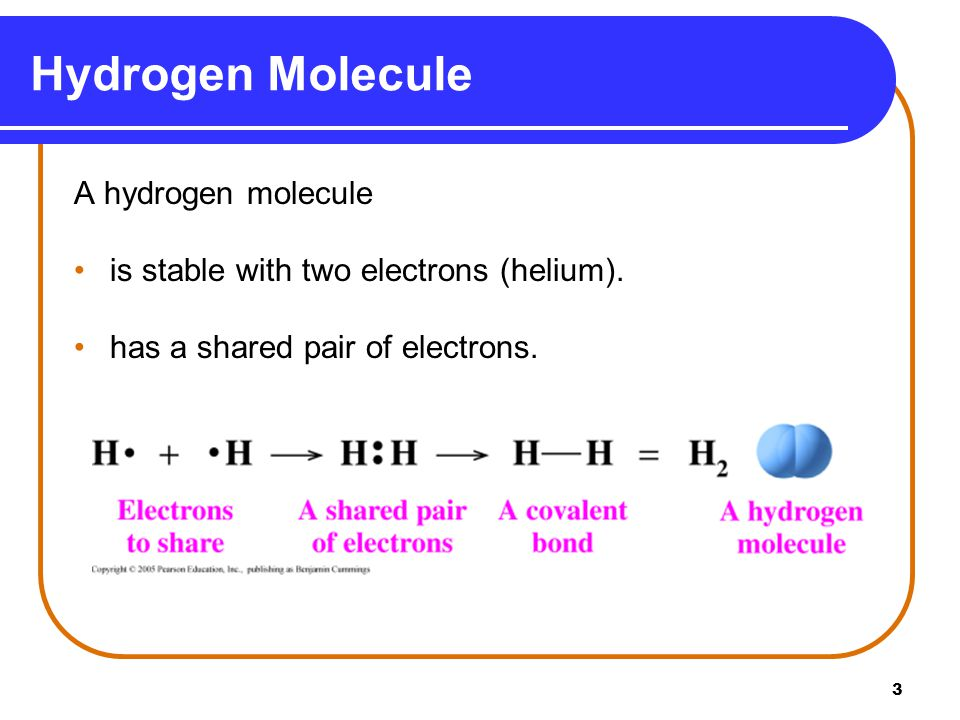 4 Forming Octets in Molecules In a fluorine, F 2,, molecule, each F atom shares one electron.