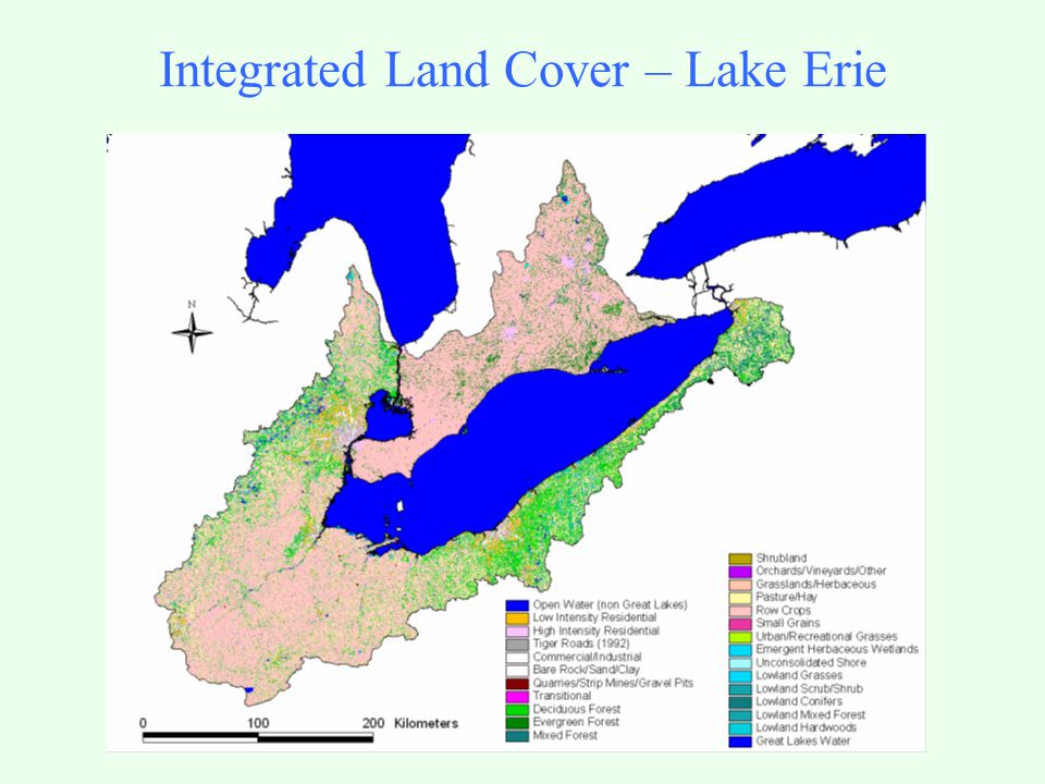 Integrated Land Cover – Lake Erie