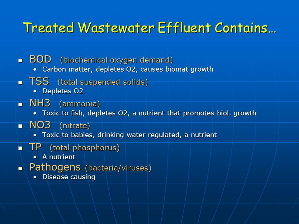 Denitrification Need low (no) oxygen (< 1 mg/L) Need low (no) oxygen (< 1 mg/L) Need carbon source (BOD in Wastewater) Need carbon source (BOD in Wastewater) Neutral pH (pH 7) Neutral pH (pH 7) Conc of nitrate Conc of nitrate